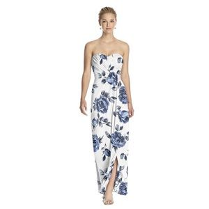 Dessy Collection Indigo Rose Dress Prom Bride